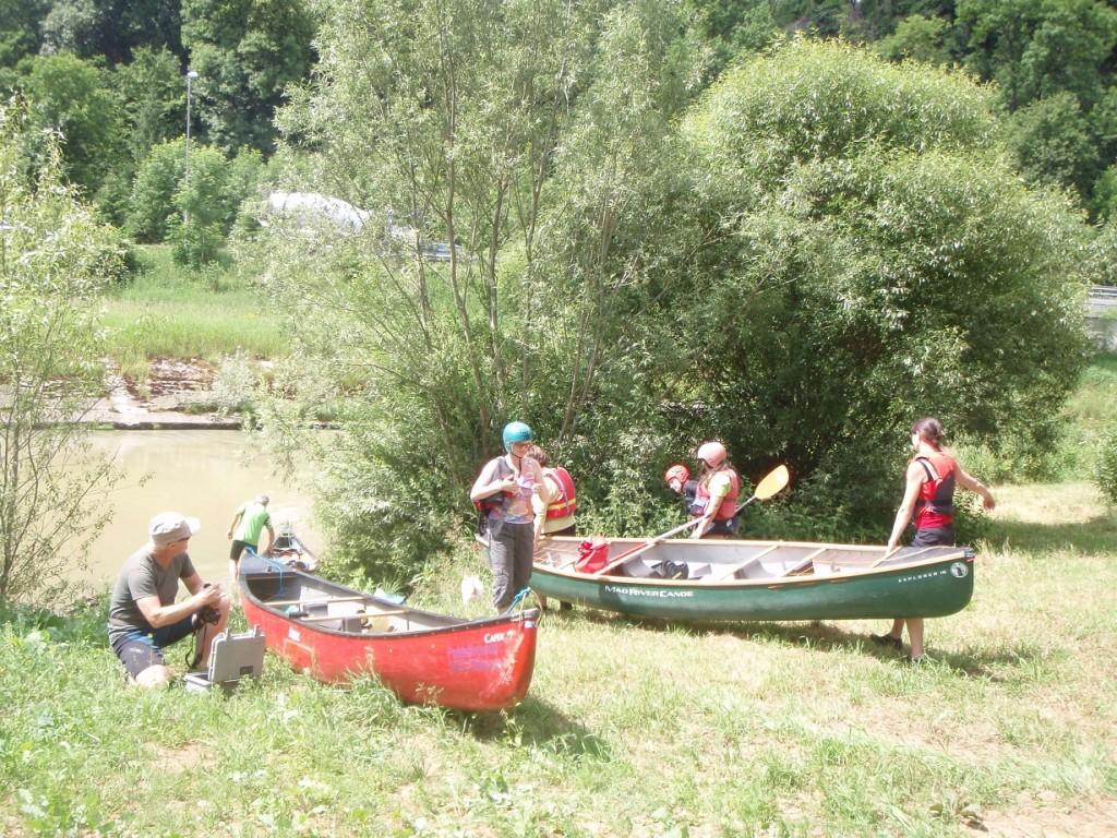 Einsatzstelle in Fischingen
