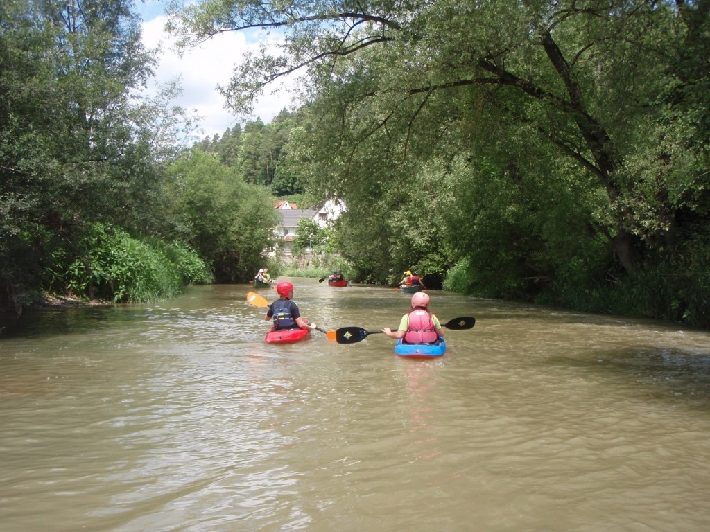 Neckar bei Fischingen