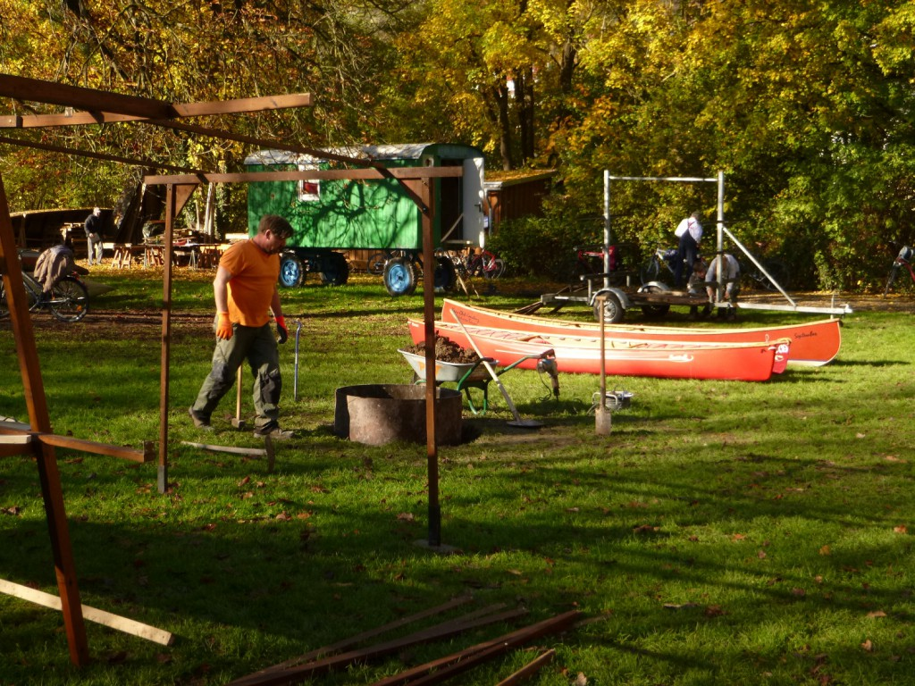 Bootshausputzete Herbst 2014